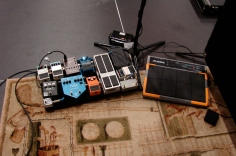 Guitar Pedals and Loop Triggers
